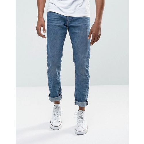 Esprit Jeans In Straight Fit Washed Blue Organic Denim - Blue