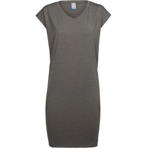Icebreaker YANNI DRESS Sukienka z dżerseju metal, 104100