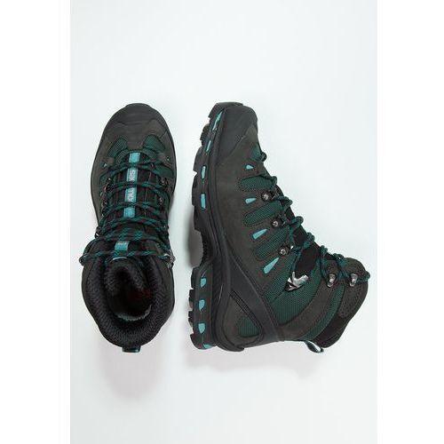 Salomon QUEST 4D 2 GTX Buty trekkingowe asphalt/green black/haze blue - sprawdź w wybranym sklepie
