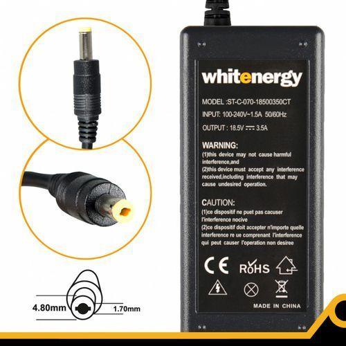 Whitenergy Zasilacz 18.5v/3.5a Wtyk 4.8x1.7 Mm (04096)