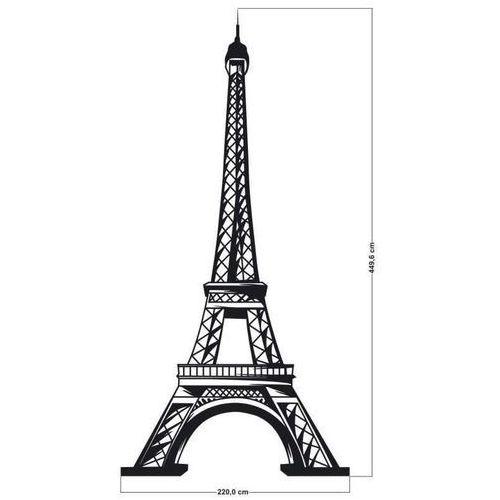 Indywidualna naklejka wieża eiffla o wymiarach 220x4496cm marki Deco-strefa – dekoracje w dobrym stylu