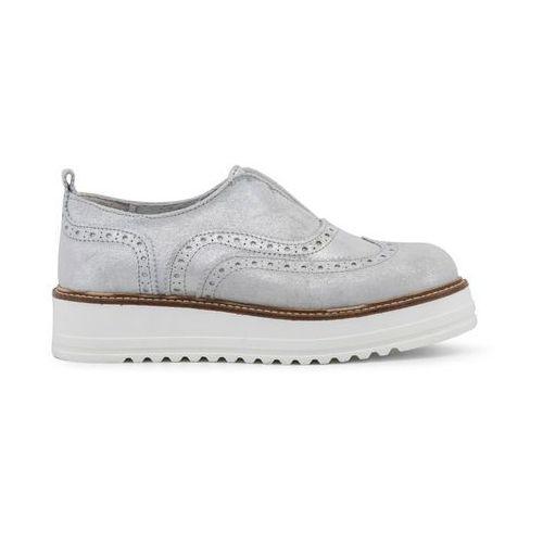 Płaskie buty damskie ANA LUBLIN - GERALDINA-88, GERALDINA_ARGENTO-40