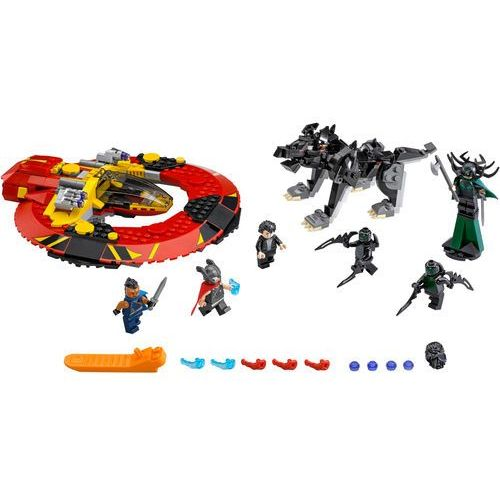 Lego SUPER HEROES Ostateczna bitwa o asgard 76084