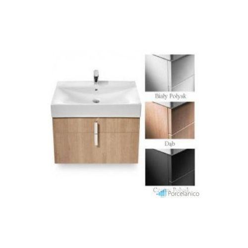 diverta szafka pod umywalkę z dwoma szufladami 73 x 42,5 x 51 cm do umywalki diverta 75 cm a856 marki Roca