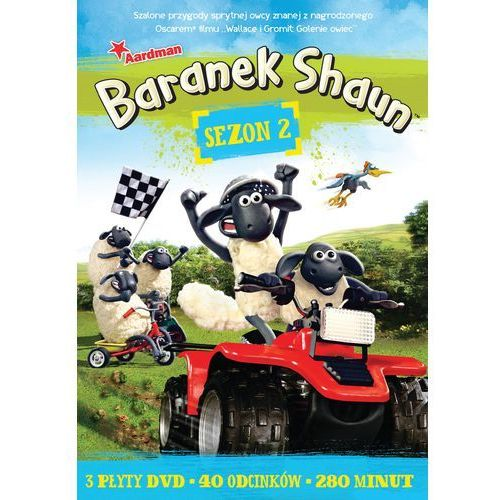 Baranek Shaun - sezon 2 ( DVD) - Christopher Sadler, Rich Webbe (7321997400158)