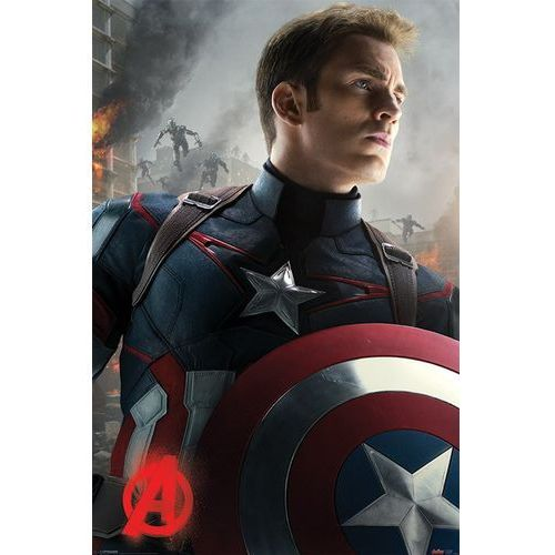 Avengers Czas Ultrona - Kapitan Ameryka - plakat, EPLPP33612