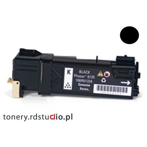 Quantec Toner do xerox phaser 6125 - zamiennik xerox 106r01338 black / czarny