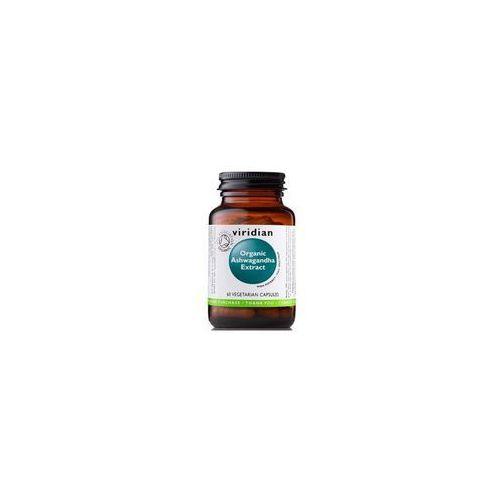 Tabletki BIO Ashwagandha (60 kaps.) Viridian