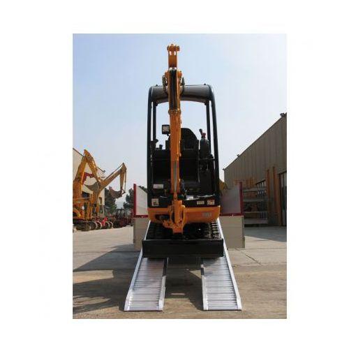 Rampa najazdowa prowadząca dla minimalnej szerokości koła lub taśmy 200 mm