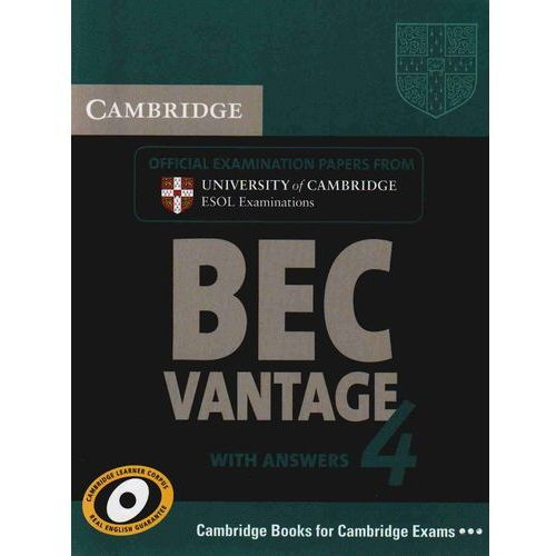 Cambridge BEC Vantage 4 Student's Book (podręcznik) with Answers (128 str.)