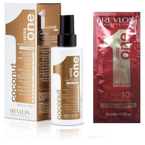 Revlon Uniq One - kuracja kokosowa do włosów 10 w 1 150ml + Gratis - maska REVLON 15 ml!