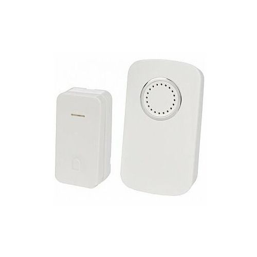 Perel bezprzewodowy dzwonek do drzwi z 1 przyciskiem kinetycznym - zestaw