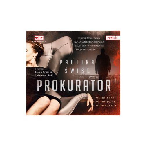 Prokurator (audiobook CD) - Paulina Świst OD 24,99zł DARMOWA DOSTAWA KIOSK RUCHU (9788328709287)