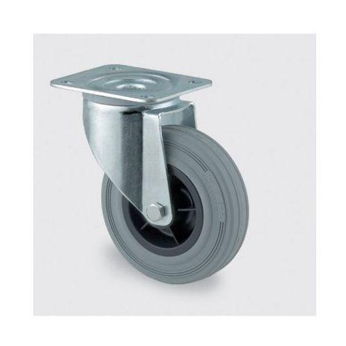 Koła przemysłowe z maksymalnym obciążeniem 70-205 kg, szara guma (4031582303827)