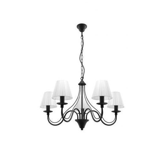 Sollux lighting Lampa wisząca minerwa abażur 5 czarny marki model sl.0563 (5903282705623)