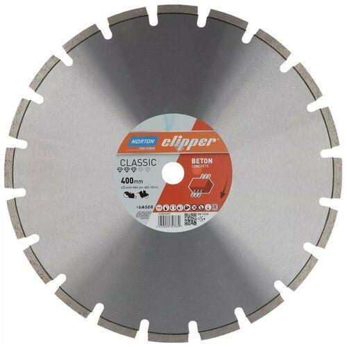 NORTON CLIPPER Classic Beton Concrete 400mm/25,4mm TARCZA DIAMENTOWA 70184626873 (5450248353669)