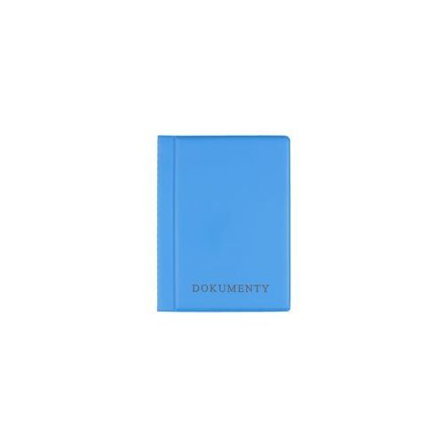 Okładka etui na legitymację szkolną, dokumenty - błękitny marki Biurfol