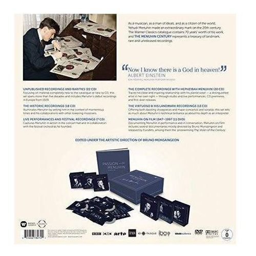 The Menuhin Century: Luxury Edition (80 Cds & 11 Dvds) (Limited)