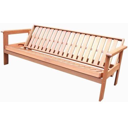 ławka ogrodowa futon rozkładana marki Rojaplast