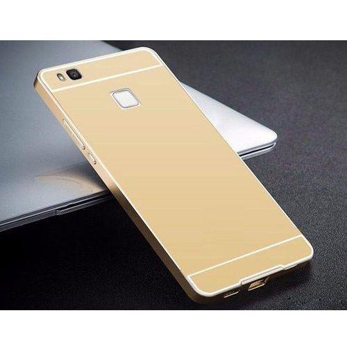 Obudowa Bumper Metal Huawei P9 Złoty - Złoty