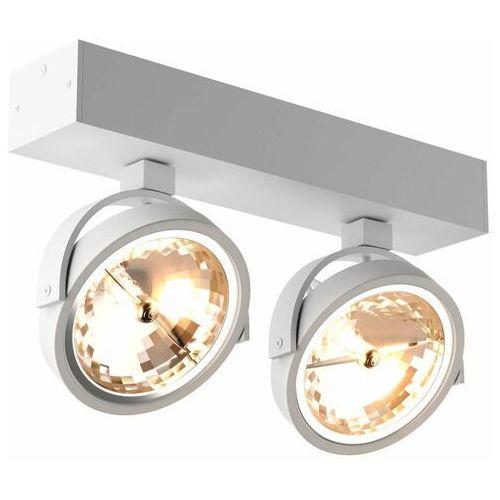 Regulowana LAMPA sufitowa GO SL2 89964-G9 Zumaline metalowa OPRAWA ścienna spot reflektory białe, 89964-G9