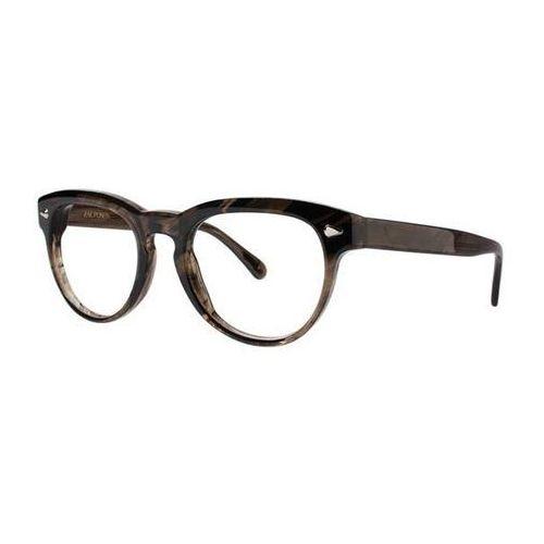 Zac posen Okulary korekcyjne serge gray