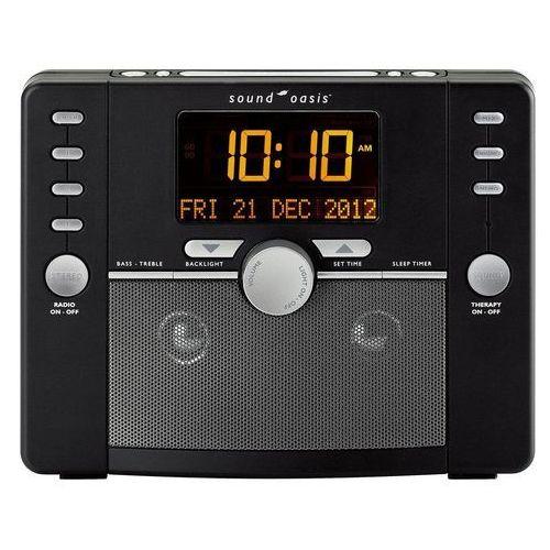 Sound oasis Sound therapy system s-5000. generator dźwięków, radio, zegar oraz budzik