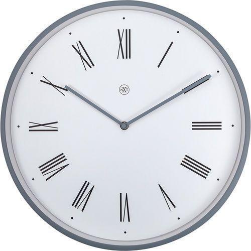 Nextime Zegar ścienny rzymskie cyfry na białym tle duke nxt 40 cm (7329 wi) (8717713024989)