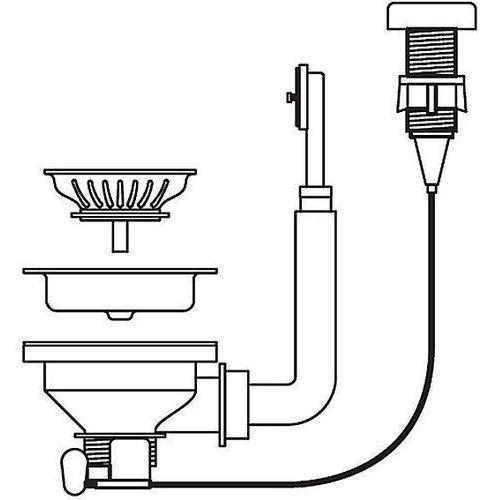 Korek automatyczny PYRAMIS INOX (5201217116132)