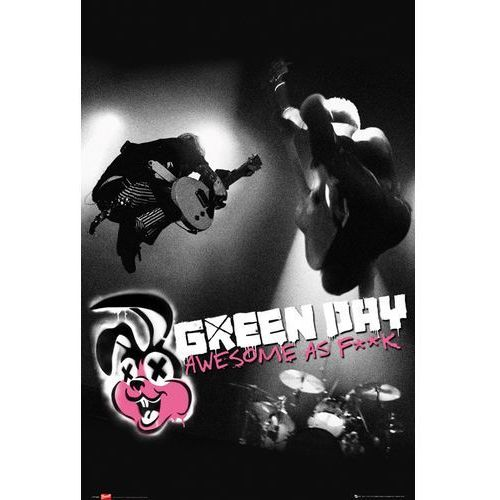 Green Day Awesome as Fuck - plakat (5028486146932)