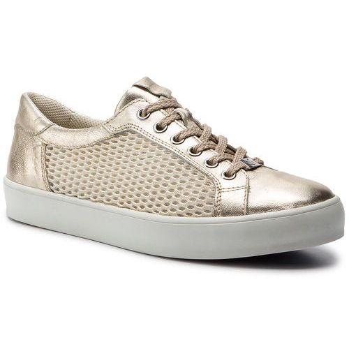 Caprice Sneakersy - 9-23652-22 lt gold mesh 961