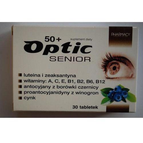 Tabl. Optic Senior 50 plus tabletki 30 sztuk Kurier: 13.75, odbiór osobisty: GRATIS!
