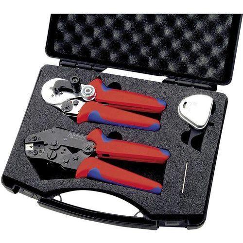 Szczypce do zaciskania Rennsteig Werkzeuge PEW8.71, 8712 1000 61, ze Szczypcami do zdejmowania izolacji