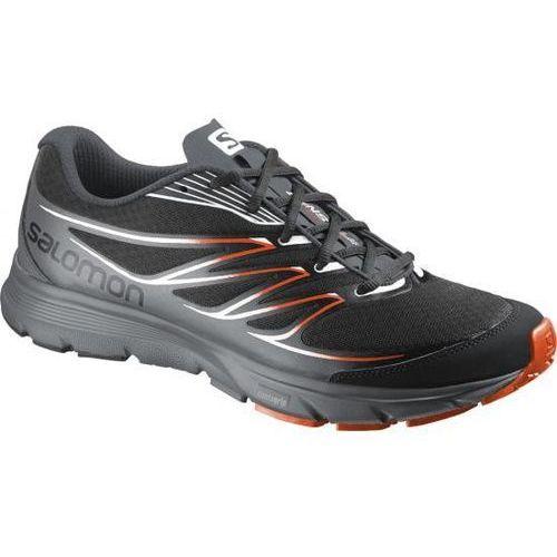 Męskie buty do biegania sense link black 43 1/3 marki Salomon