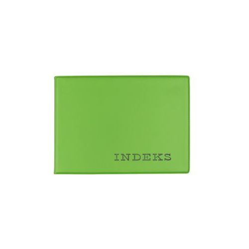 Biurfol Okładka etui na indeks twarda z folii pvc zielona - zielony