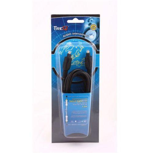 Treq Kabel cyfrowy-optyczny toslink wtyk - toslink wtyk 1,5m gold (5907707060496)