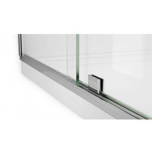 Rea cezar drzwi prysznicowe 120 cm 1-skrzydłowe prawe szkło transparentne rea-k9901