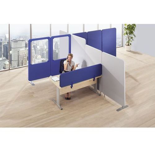 Bruno klein systembau System tłumiących hałas ścianek działowych premium, panel ścienny, wys. 1800 mm,