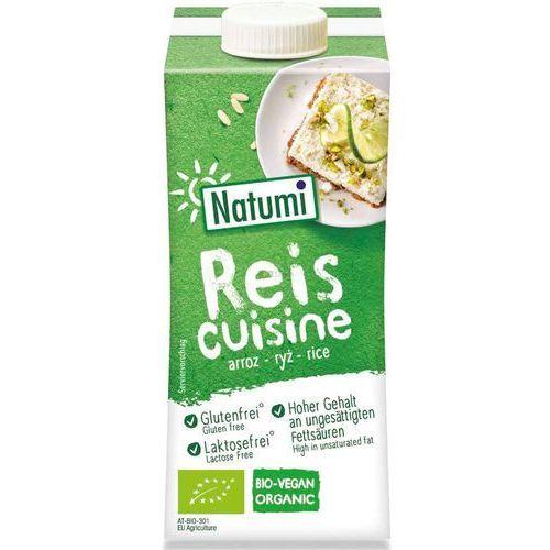 Śmietana ryżowa bio 200ml marki Natumi