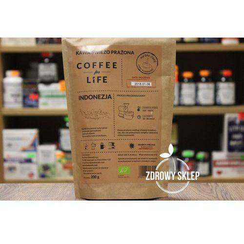 Kawa 100% Arabica Mielona Indonezja Bio 200 g Ale Eko Cafe, 5904730489119