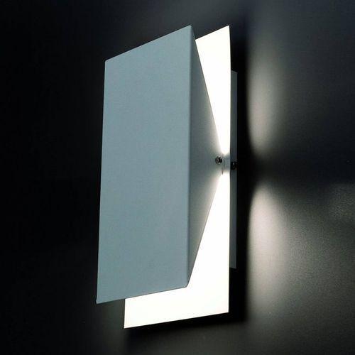 Faro Homs-kinkiet metal prostokątny odchylany wys.36cm