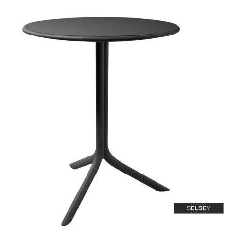 Selsey stół chapena czarny średnica 61 cm (5903025102665)