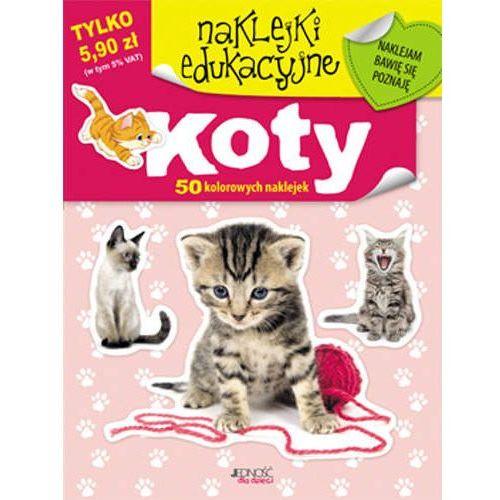 Naklejki koty 60 kolorowych naklejek/jedność marki Praca zbiorowa