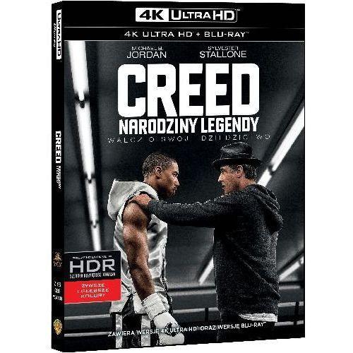 Creed: Narodziny Legendy (4K Ultra HD) (Blu-ray) - Ryan Coogle DARMOWA DOSTAWA KIOSK RUCHU (7321999341886)