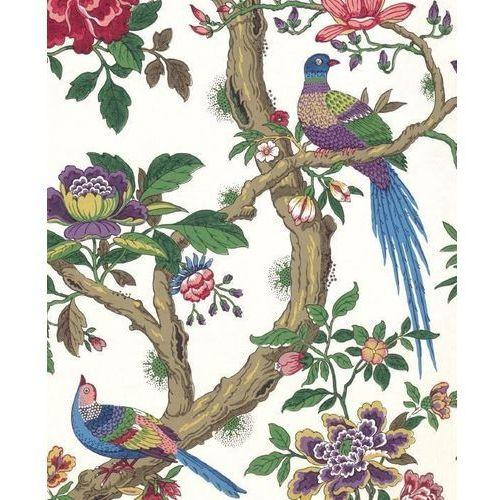 Museums & galleries Karnet 17x14cm z kopertą chinese magpie wallpaper (5015278350189)