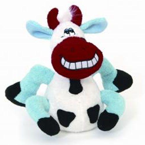 Uśmiechnięta krowa - miękki gryzak dla psa od marki Happypet