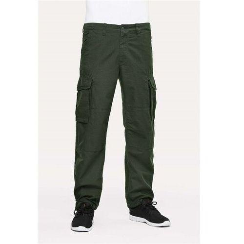 spodnie REELL - Cargo Ripstop Forest Green Ripstop Forest Green (Ripstop Forest Green), kolor zielony