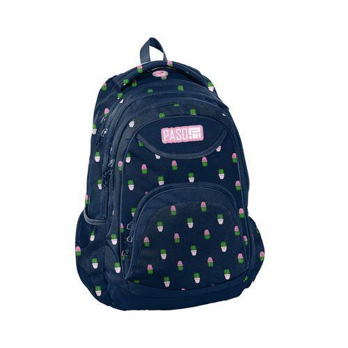 Plecak młodzieżowy w kaktusy 4y38g4 marki Paso