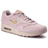 Nike Buty - air max 1 premium sc 918354 601 particle rose/metallic gold