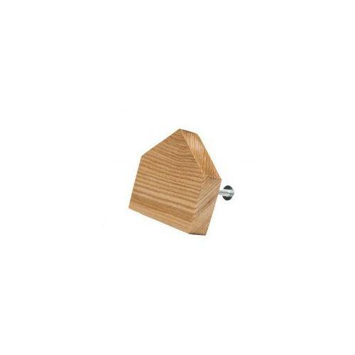 Premium Gałka do mebli Domek drewniany (prosty)